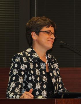 Kathie Ebaugh, director of planning for the Sarasota County Schools. Photo by Rachel Hackney