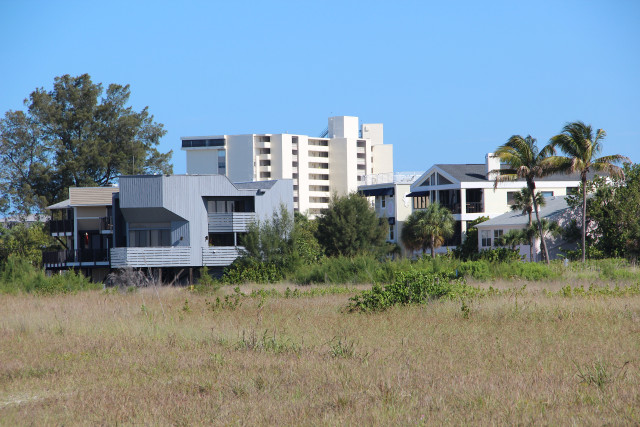 The parcel at 162 Beach Road had an abundance of dune vegetation in May 2014. File photo