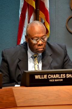 Sarasota Mayor Willie Shaw. File photo