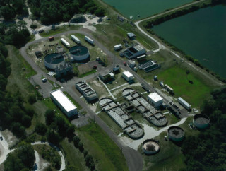 The Central Sarasota Water Reclamation Facility is on Palmer Ranch. Image courtesy Sarasota County