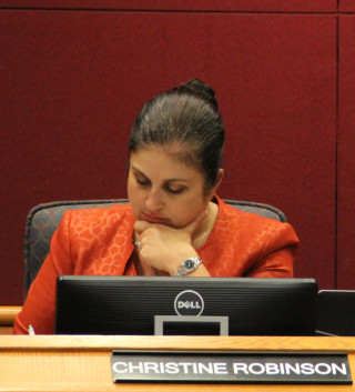 Commissioner Christine Robinson. File photo