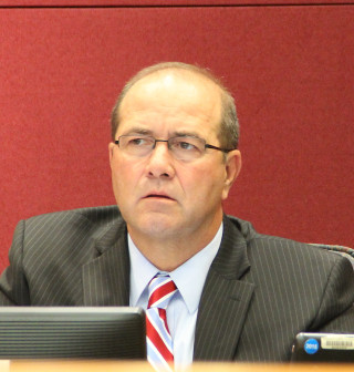 County Administrator Tom Harmer. Rachel Hackney photo