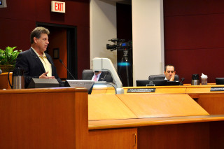 Robert Marbut addresses the City and County Commissions in November 2013. File photo