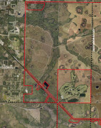 Thomas Ranch properties for BCC Oct. 13 2015 aerial map