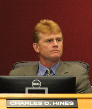 Commissioner Charles Hines. File photo