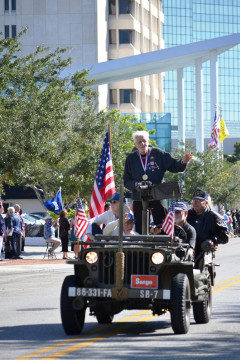 The annual Veterans Day Parade will be held Nov. 11 in downtown Sarasota. File photo