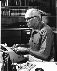 John D. MacDonald. Image from Wikipedia