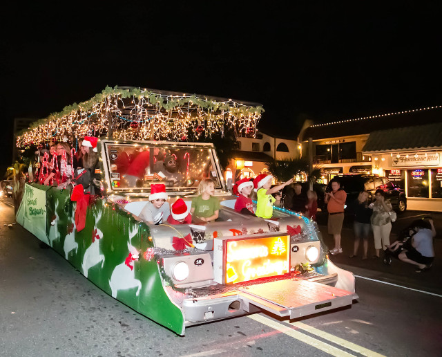 Light Up the Village will feature a parade down Ocean Boulevard on Nov. 28. Photo courtesy Peter van Roekens
