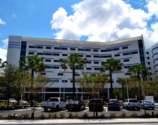 Sarasota Memorial Hospital is located on U.S. 41 in Sarasota. File photo