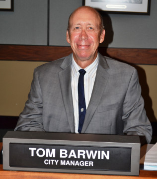 City Manager Tom Barwin. File photo