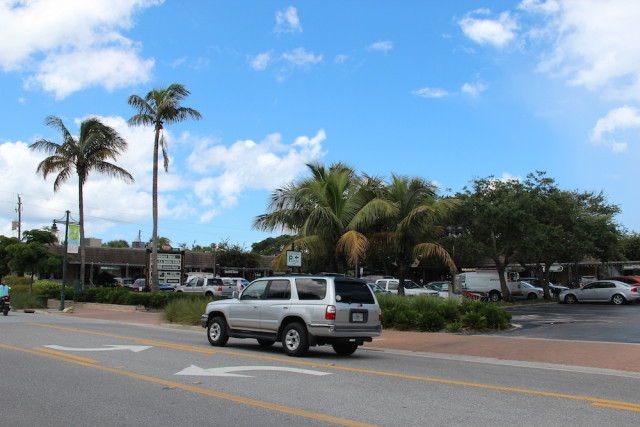 Ocean Boulevard runs through Siesta Village. File photo