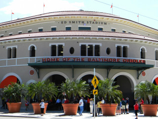 Ed Smith Stadium is in Sarasota. File photo