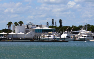 Marina Jack is located on Sarasota Bay in downtown Sarasota. File photo