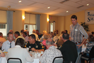 SKA members enjoy breakfast and conversation during the 2013 annual meeting. File photo