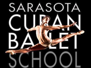 The Sarasota Cuban Ballet School logo is on its website.