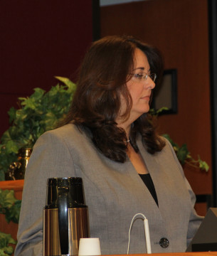 Interim County Engineer Carolyn Eastwood. File photo