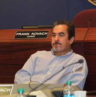 School board member Frank Kovach. File photo
