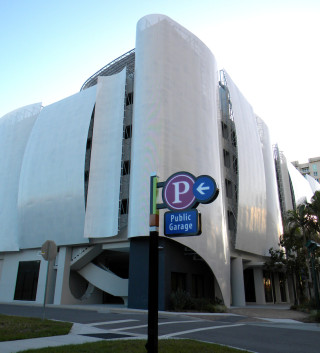 The Palm Avenue garage is one of three such public facilities in the city. File photo