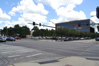 The county-owned land at 20 N. Washington Blvd. in downtown Sarasota is used for parking. File photo