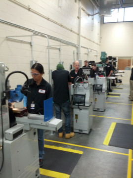 Enrollment for the next Precision Machining Program class is open. Photo courtesy Sarasota County Schools