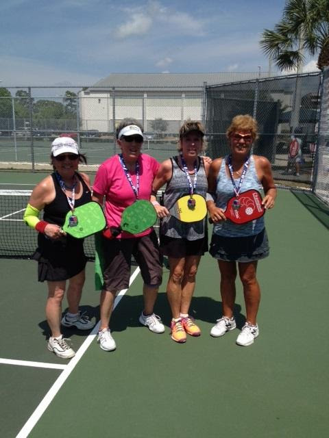 Sarasota County will host its fifth Pickleball Slam next month. Photo courtesy Sarasota County
