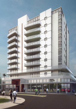 Sansara is one of the projects that did not have to pay water and sewer fees. Image from the developer's website