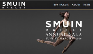 The Smuin Ballet is based in San Francisco. Image from the website