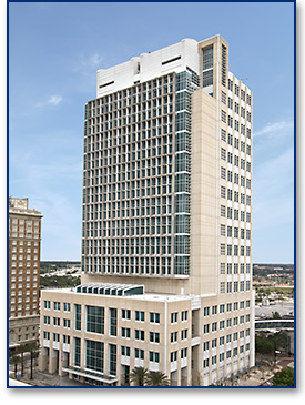 The U.S. District Courthouse for the Middle District of Florida is in Tampa. Image from the court's website