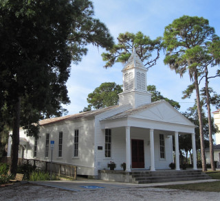 The Crocker Church is located in Pioneer Park in north Sarasota. File photo
