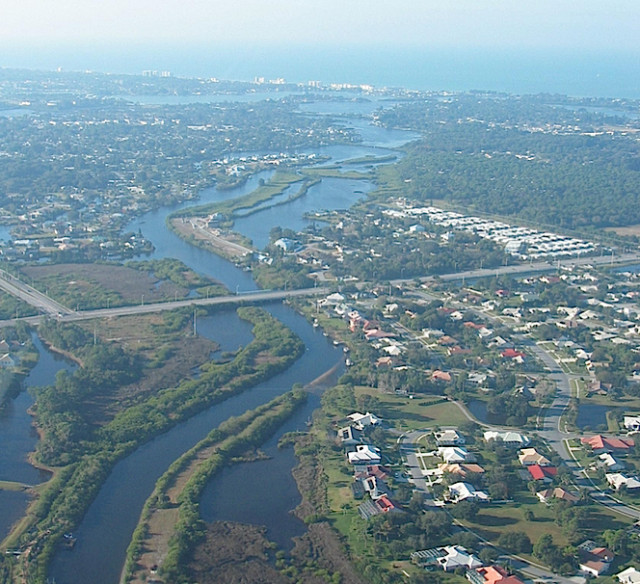 A 2007 photo shows the Dona Bay Estuary. Photo courtesy Sarasota County