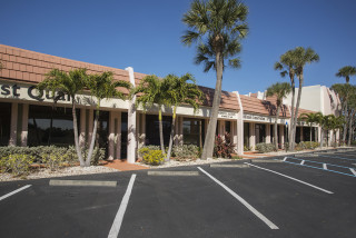 The Hamilton Building will serve as the temporary library location. Photo courtesy Sarasota County