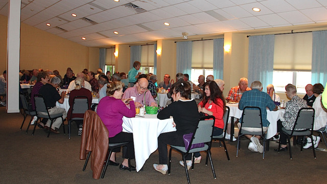 SKA members enjoy breakfast during the annual meeting on March 5. Rachel Hackney photo