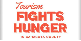 Visit Sarasota County is promoting its campaign with this logo. Image from the website