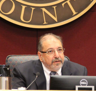 County Commission Chair Al Maio. Rachel Hackney photo