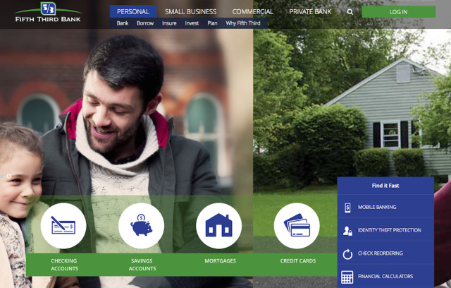 Image from the Fifth Third Bank website