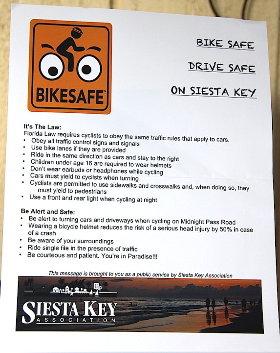 The SKA has developed this bicycle safety flyer. News Leader photo