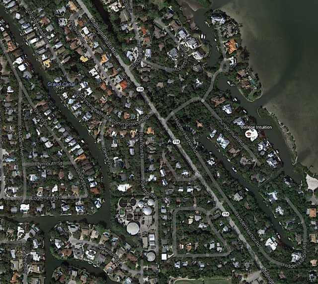 Commonwealth Drive residents live close to the plant. Image from Google Maps