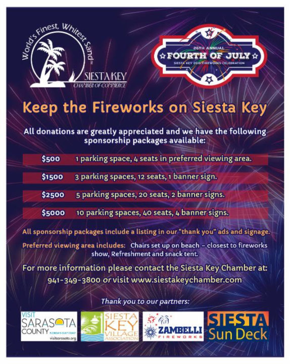 Image courtesy Siesta Key Chamber of Commerce