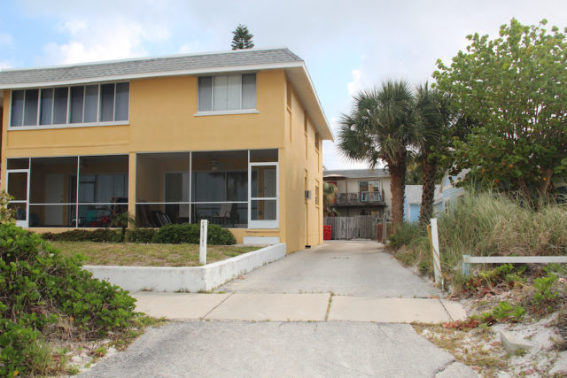 The house owned by the Maddens on North Beach Road has rental units. File photo