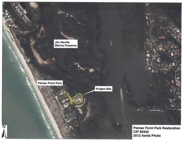 A 2012 Sarasota County graphic shows Palmer Point Park. Image courtesy Sarasota County