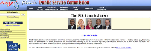Image from the Public Service Commission website