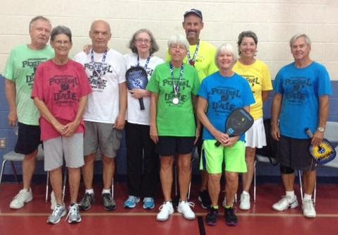 County staff invites members of the public to join the summer pickle ball league.. Photo courtesy Sarasota County