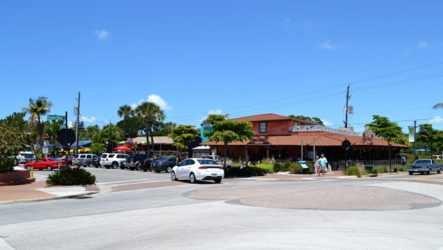 The Hub Baja Grill is located at the intersection of Ocean Boulevard and Canal Road. File photo