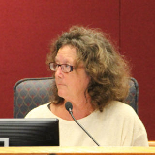 TAC member Becky Ayech listens to discussion. Rachel Hackney photo