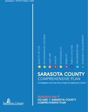 The draft Sarasota County Comprehensive Plan is available on the county website. Image courtesy Sarasota County
