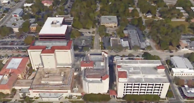 The Detention Center is in downtown Sarasota, Image courtesy Sheriff's Office