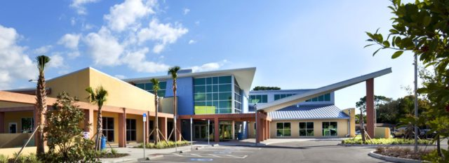 The Robert L. Taylor Community Complex is located near Booker High School in north Sarasota. Photo courtesy City of Sarasota