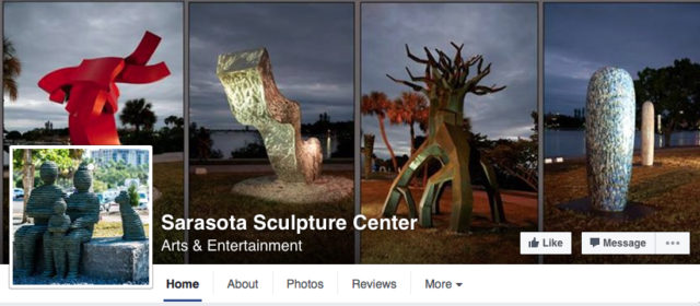 Sarasota Sculpture Center formerly was known as Season of Sculpture. Image from the organization's Facebook page