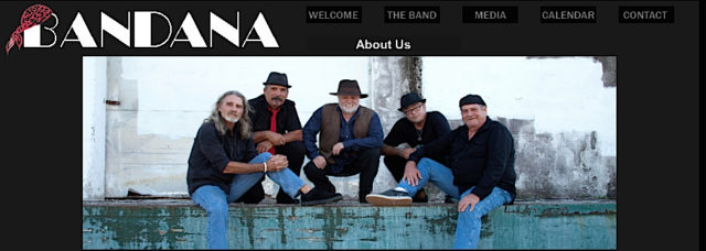 Bandana will perform at the Venice Community Center this month. Image from the band's website