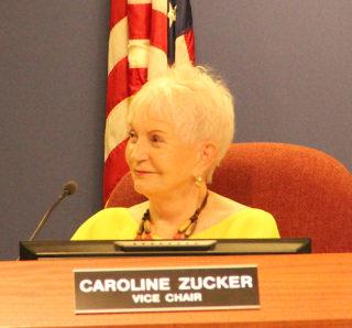 School Board member Caroline Zucker. Rachel Hackney photo